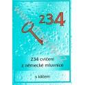VÝPRODEJ - 234 cvičení z německé mluvnice