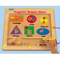 Magnetické labyrinty - geometrické tvary
