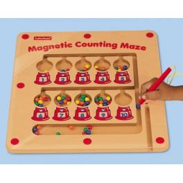 Magnetické labyrinty - počítání