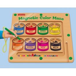Magnetické labyrinty - barvy