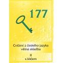 VÝPRODEJ - 177 cvičení z českého jazyka
